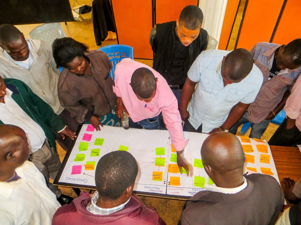 the Innovation platform itself is a learning and capacity development process, people learn in action