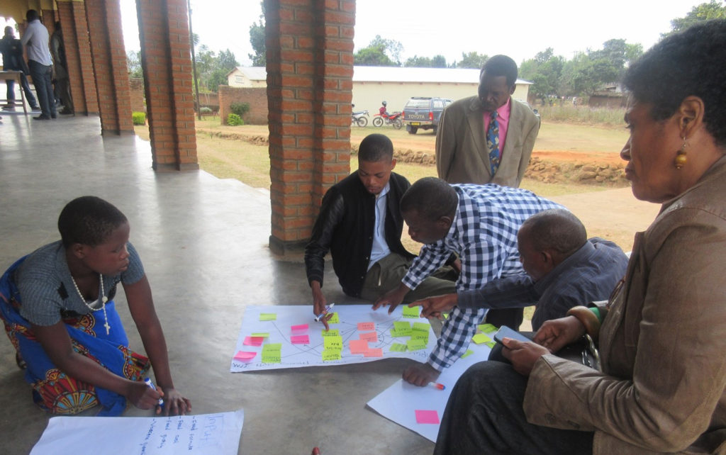 Drawing up value chains